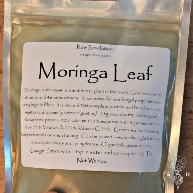 Moringa Leaf Powder Smoothie Recipe