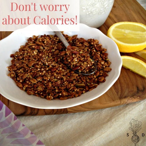 dont worry about calories