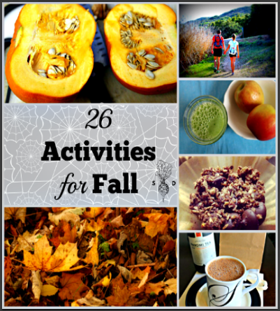 26 fall activities