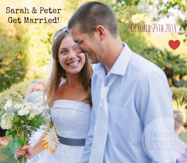 Sarah & Peter's Wedding Re-Cap