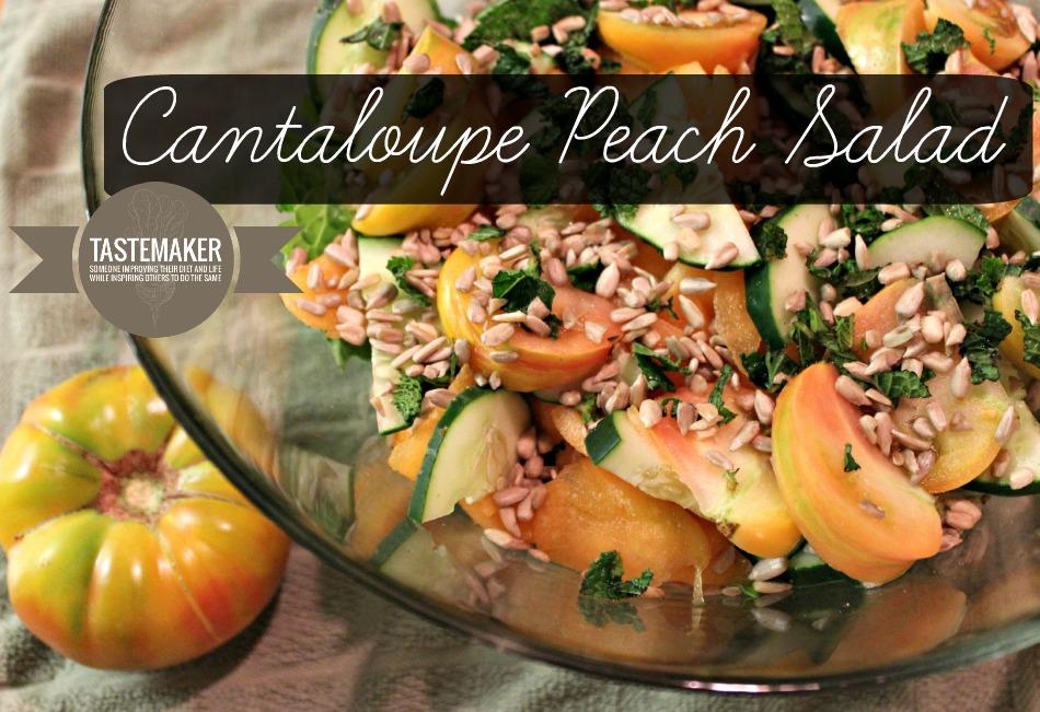 Cantaloupe Peach Salad