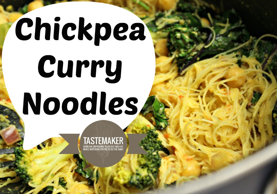 Chickpea Curry Noodles