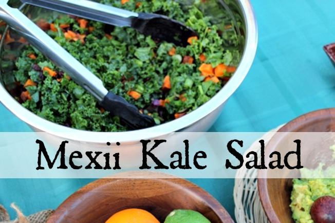 Mexii Kale Salad