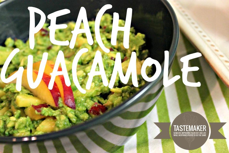 Peach Guacamole