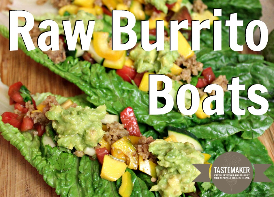 Raw Burrito Boats