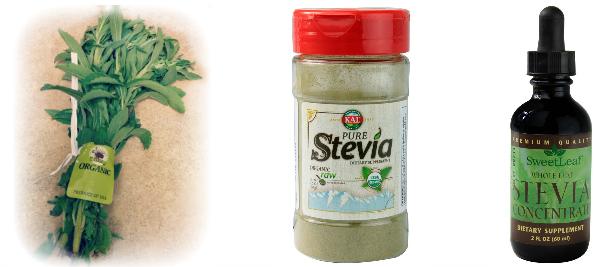 types of whole leaf stevia