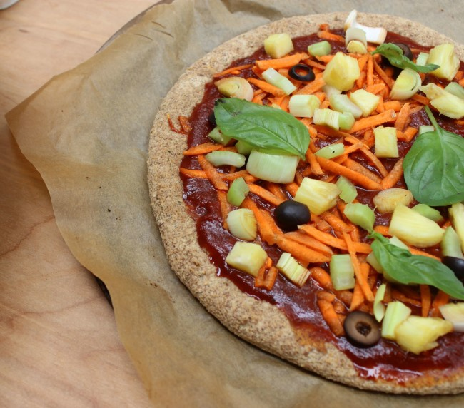 Grain Free Pizza Crust