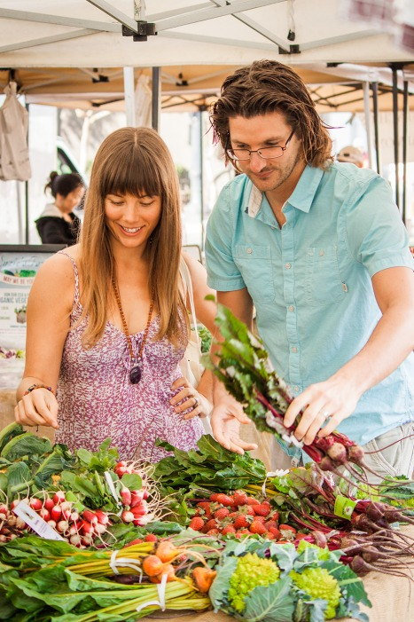 Get your family involved-Farmers Market -Healthy Eating
