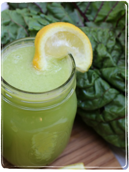 drink green juice for a high dose of Vitamins A&K