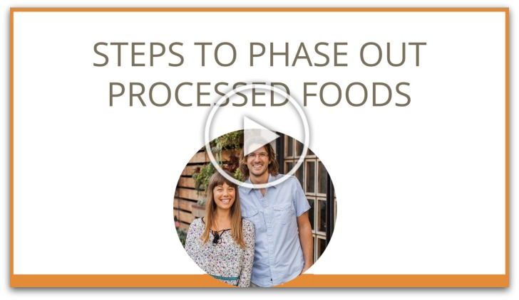 steps to phase out processed foods